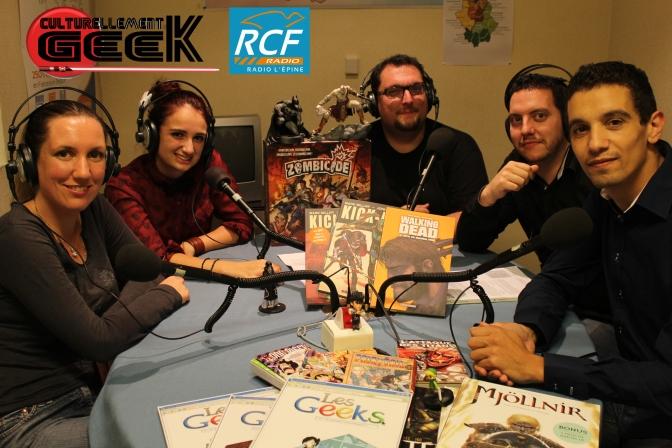 Voici la nouvelle team Culturellement Geek!!