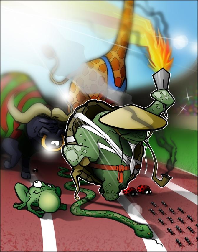 «Les jeux animolympiques Jour 1» par Tweek et Vangi feat. Illustramarc